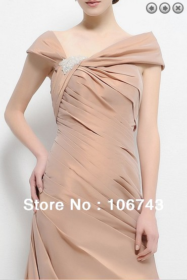 free shipping customized elegant 2018 bridal gown evening party vestidos formales robe de soiree Mother of the Bride Dresses