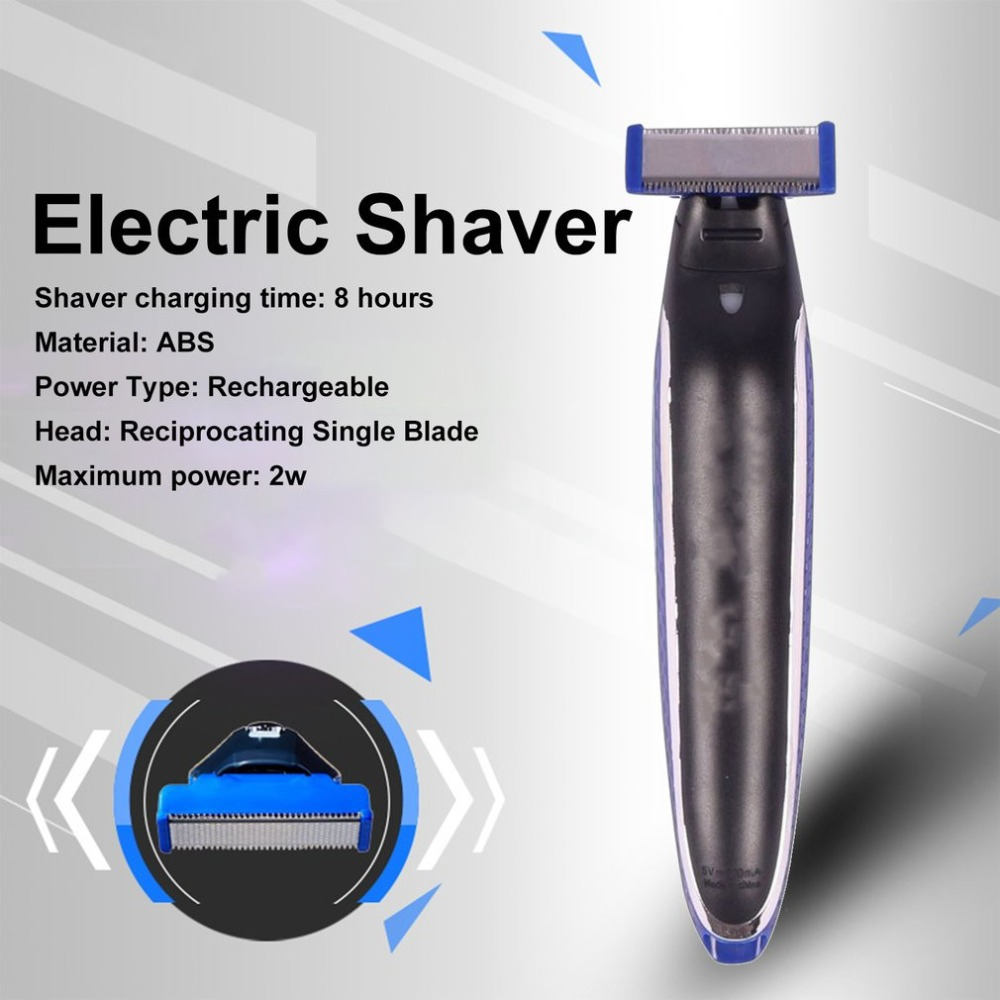 Мужская электробритва многофункциональная перезаряжаемая бритвенная машина Мужская бритва для удаления волос триммер