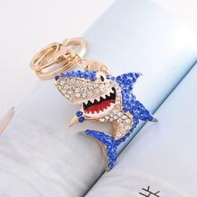 Креативный дизайн с изображением акулы брелки для ключей Полный