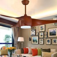 Светодиодный потолочный вентилятор с огнями дистанционного Управление 220 вольт Спальня потолочный светильник лампа вентилятор светодиодн