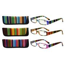 R906 Mix Eyekepper 3 paket Ženska očala za branje za ženske Manjše bralke +0,50 --- + 4,00