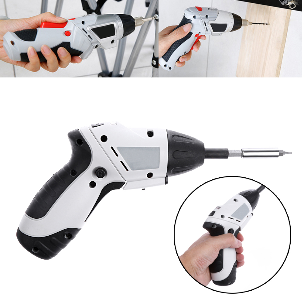 Electric Drill Cordless Screwdriver Rechargeable Battery Electric Screwdriver Parafusadeira Furadeira Power Tools high quality pro union upt 32007d portable electric screwdriver screw gun power tools parafusadeira with 2pcs electric screwdriver head