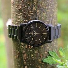 Fashionable man ebony watches wooden watches men wa