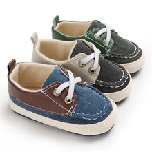 Baby Boys Shoes Breathable Anti-Slip Toddler Baby Shoes Snea