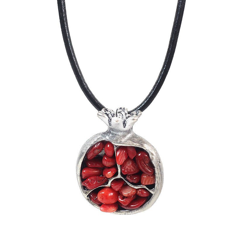 2018 Hot Sale Limited Choker Collares Overwatch Ethnic For Oriental Charm Of Pomegranate Pendant Necklace Women Fashion Jewelry