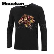 68ec9ed7 Men Long Sleeve Strong San Francisco Ferocious 49er Autumn Winter T-Shirt  Clothes T Shirt
