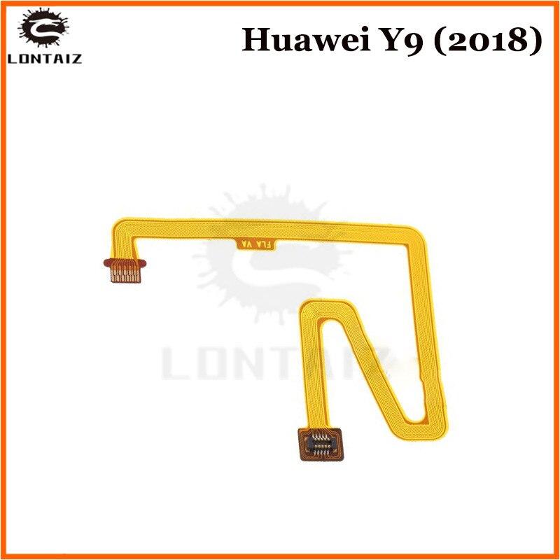 For Huawei Y9 2018 / Enjoy 8 Plus Home Button Menu Key Fingerprint Sensor Flex Cable Ribbon Repair Parts