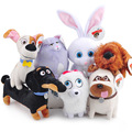 13-27cm Large 6Styles The Secret Life of Pets Plush Toys Dogs & Cats & Rabbits Animal Dolls Buddy Max Snowball Mel Chloe