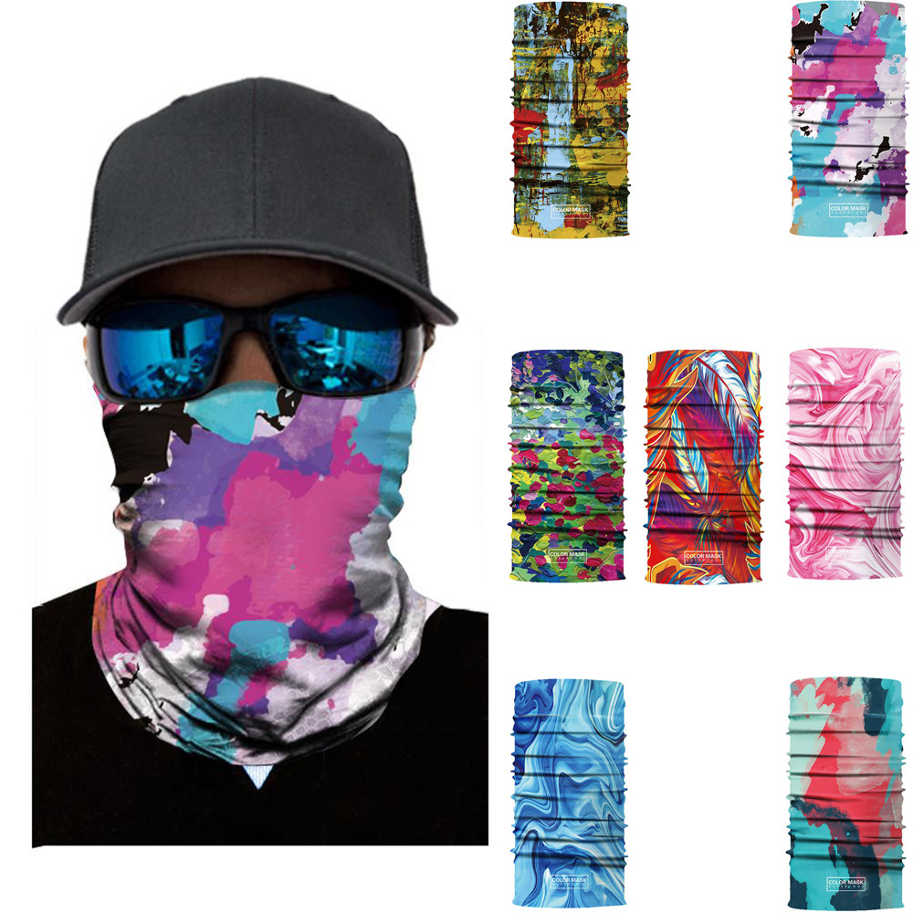 Magic Headwear Ice Cream Outdoor Scarf Headbands Bandana Mask Neck Gaiter Head Wrap Mask Sweatband