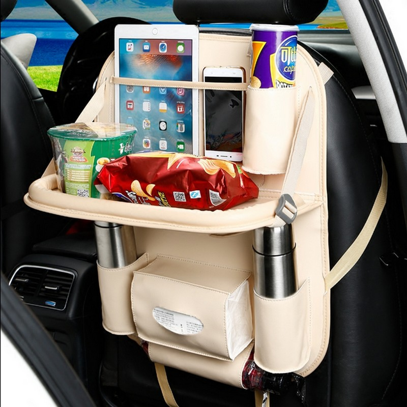 Baby Safety Snack Table Car Seat bag Baby Stroller <font><b>Accessories</b></font> Travel Tray Storage Children Drawing Board Eat Tables drop ship