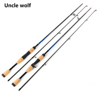 Carbon Spinning Fishing Rod M Power Hand Fishing Tackle Lure Rod Lure Wt 3 21g Casting