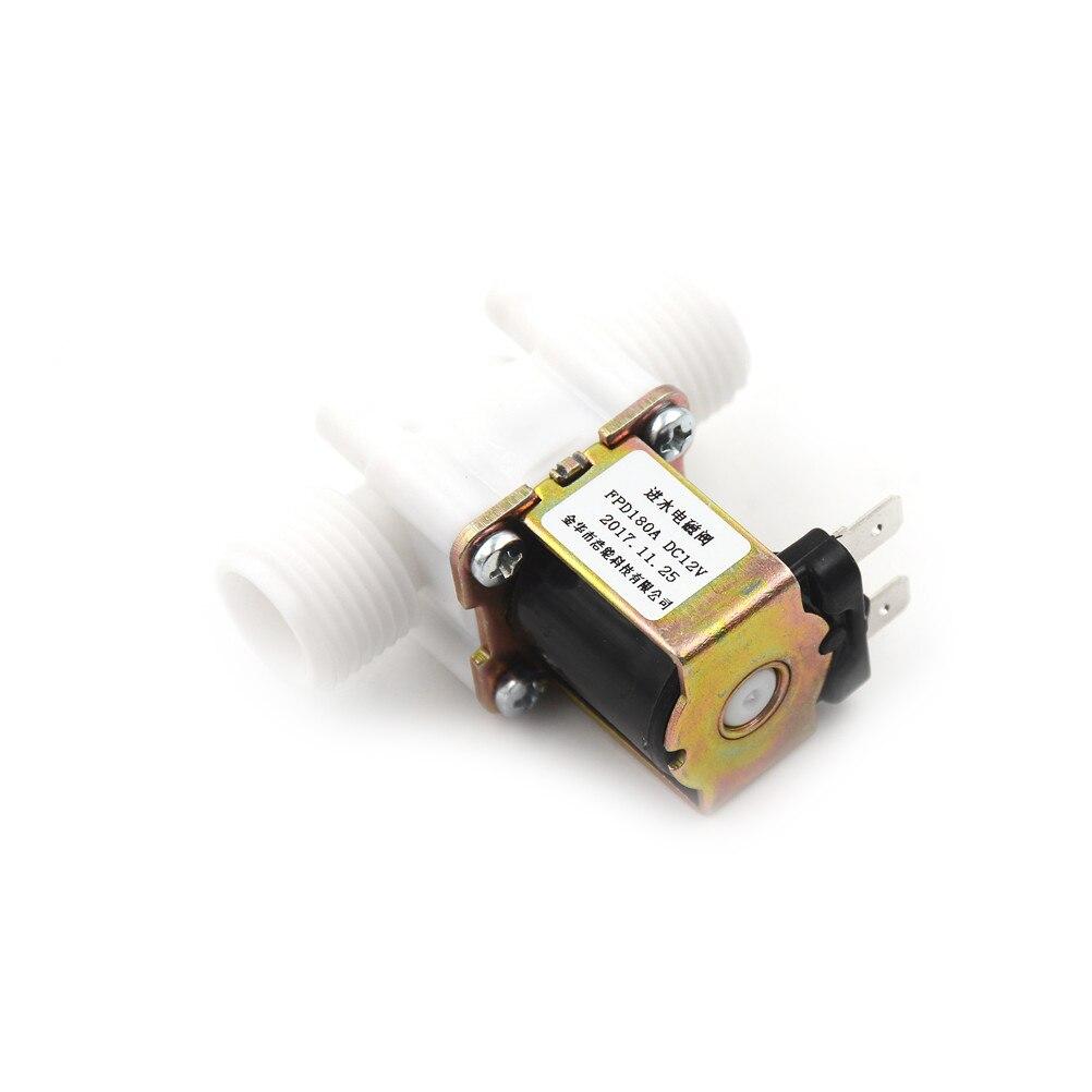 Heimwerker Aus Dem Ausland Importiert 12 V Elektrische Magnetventil Magnet Dc N/c Wasser Lufteinlass Fluss Schalter 1/2 power 8 Watt Strom 0.6a Strukturelle Behinderungen Sanitär