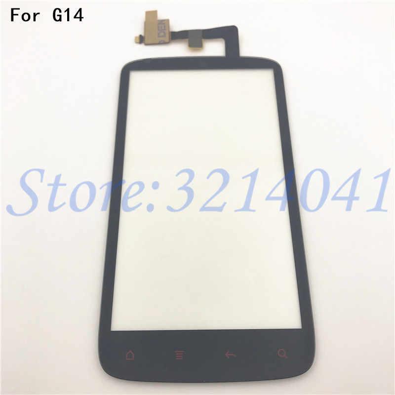 4.3 pollici Per HTC Sensation 4G G14 Z710e Anteriore Dello Schermo di Tocco Digitizer Pannello di Vetro del Sensore di Ricambio parti di Riparazione