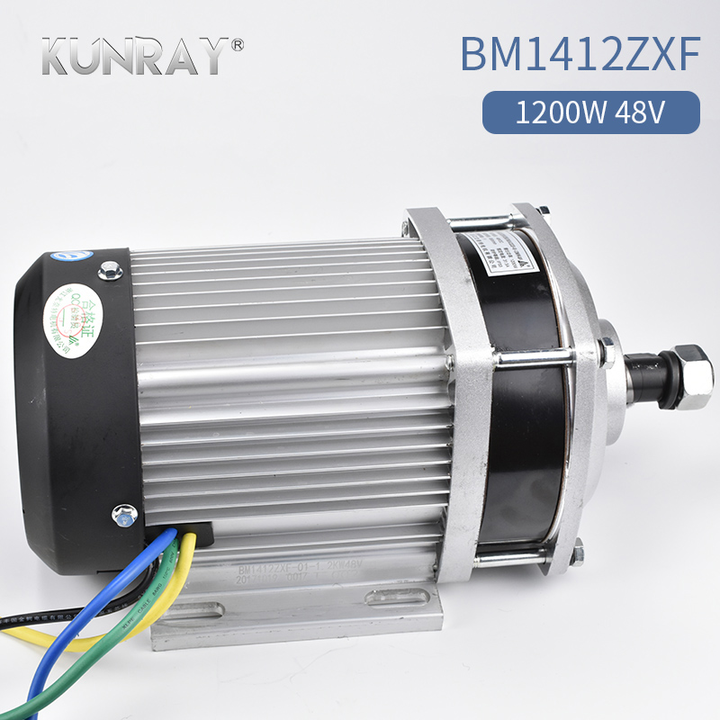 1200W 60V 48V DC Electric Tricycle Big Power Brushless Motor E-Car Three Wheel Four Wheel Car Mid Drive Engine Accessories Parts