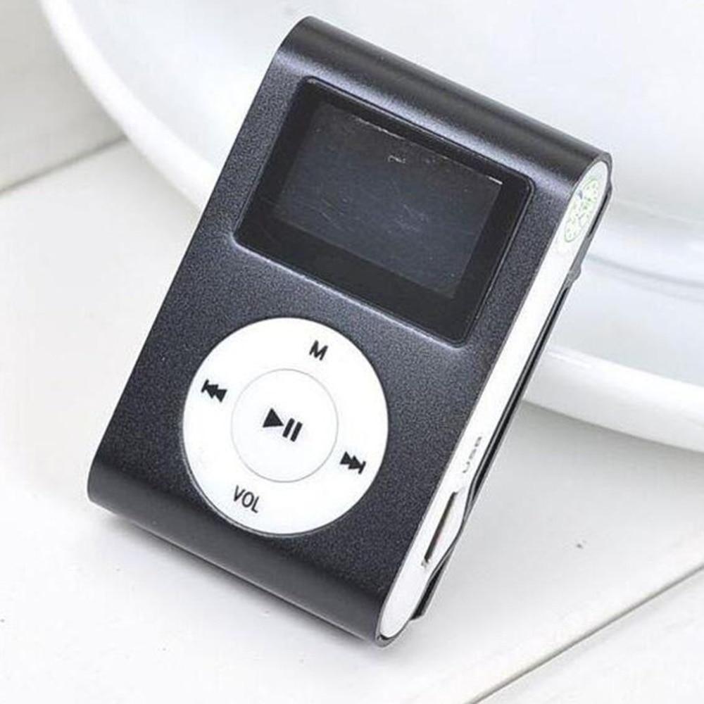 50510dfdc Nuevo gran espejo de promoción portátil MP3 jugador Mini Clip MP3 jugador deporte  impermeable mp3 reproductor de música walkman lettore mp3