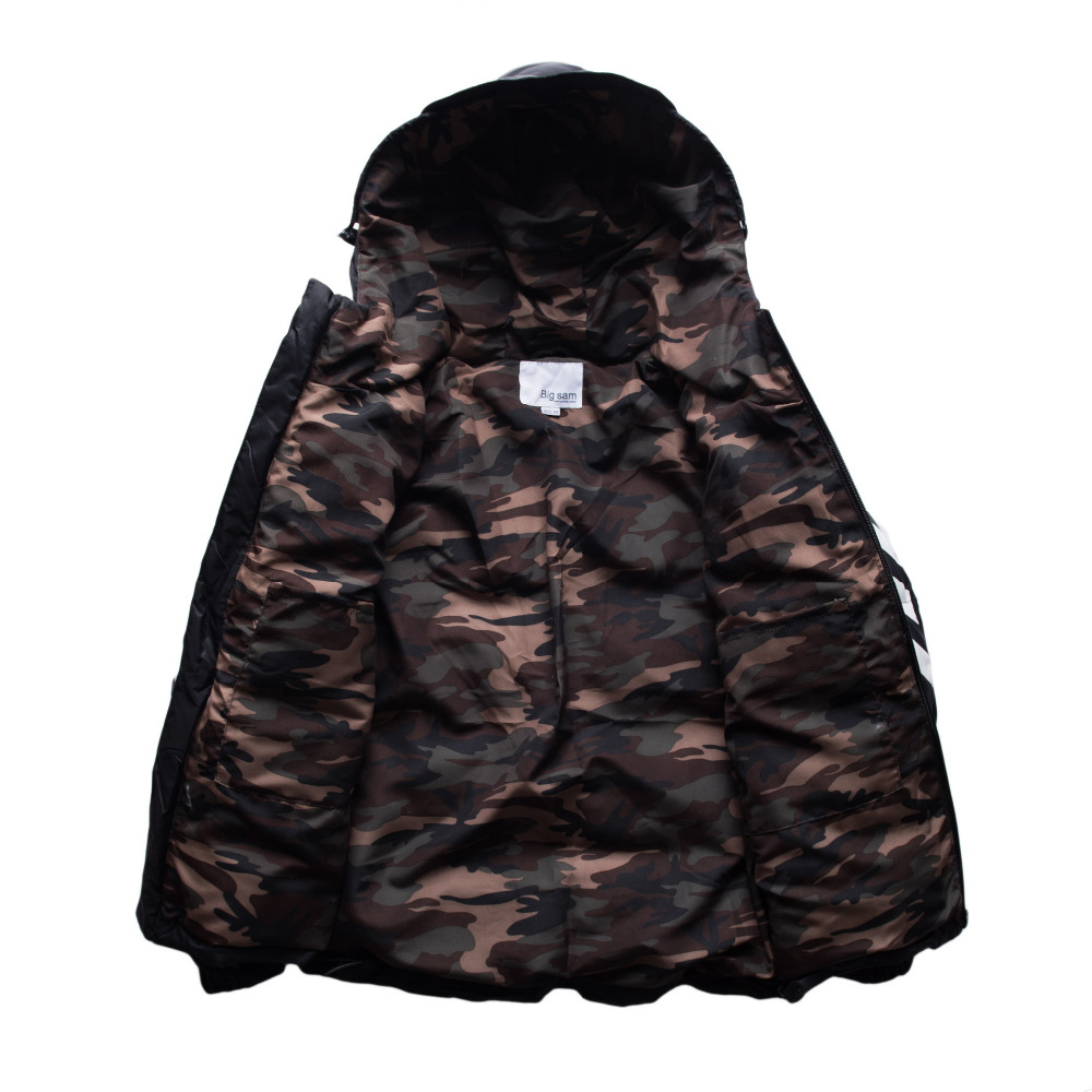 OFF WHITE Winter Parkas Jacket High Quality Men Warm Down Jacket ...