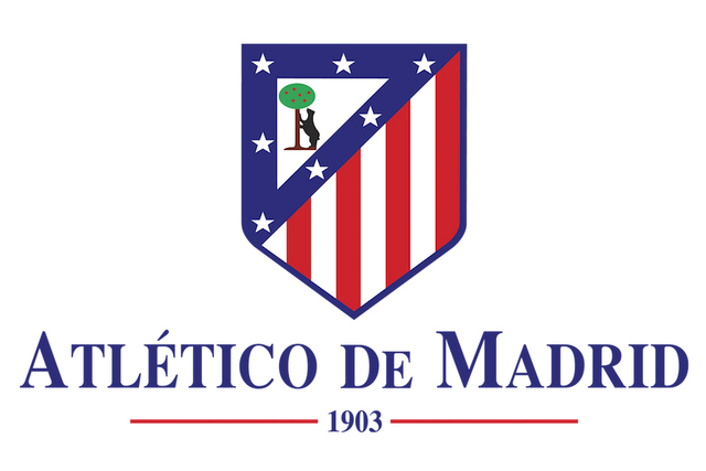 Custom Canvas Poster Wall Decor Football Team Logo Wallpaper Atletico Madrid Symbol Stickers Office Mural