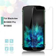 2.5D 0.26mm Tempered Glass Blackview BV5800 BV5800 Pro Toughened Screen Protector Film Protective Screen Case BV5800 Universal(China)