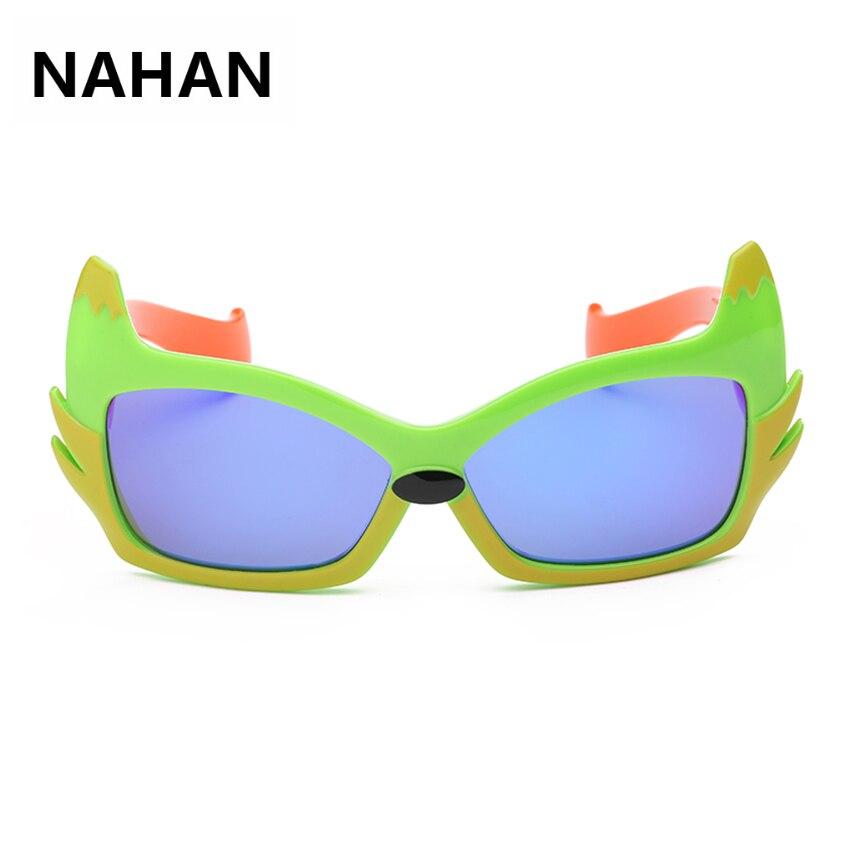 7a0d7ce4ff8f3 Olhos de Gato óculos de TR90 Crianças TAC Óculos Polarizados Anti-Reflexo  Europeu Moda Polaroid UV400 Óculos de Sol para Meninos Das Meninas