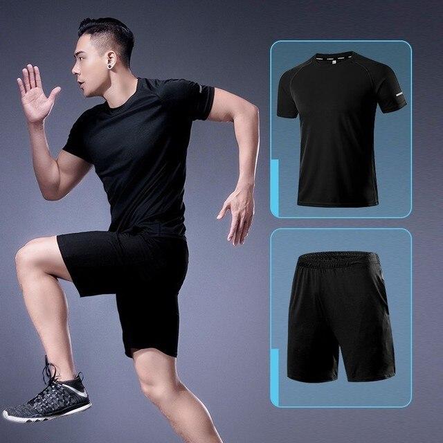 Men Sportswear Two Pieces...