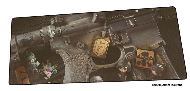 Rainbow Six Siege mousepad 1200x500mm present gaming mouse pad gamer mat Beautiful game computer desk padmouse large play mats все цены