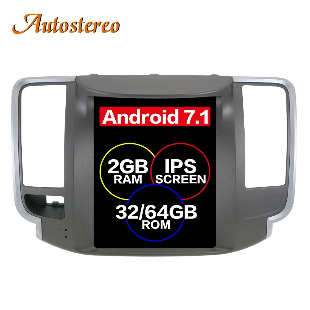 Autostereo Android7 Tesla Car no DVD Player GPS Navigation For NISSAN Teana 2008-2011 mult