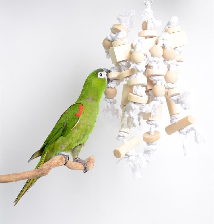 the sale of shoes new arrive cute € 12.93 5% de réduction|Animal de compagnie oiseau jouet pour Cockatiel  corde perruche Conure grand perroquet jouet oiseau Cage accessoires D572-in  ...