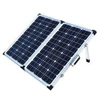 XINPUGUANG бренд 120 Вт (шт. 2 Вт шт. 60 Вт) складная солнечная панель Китай 18 В в + 10A 12 В в/24 контроллер элемент для солнечной батареи/модуль/системы за
