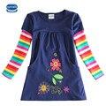 Novatx H5802 Al Por Menor A Estrenar Ropa de Niños Niño Ropa Blusa para Las Niñas camisetas Top Largo Seeve Flor de Primavera otoño