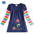 Novatx H5802 Retail Nova Marca Blusa Roupa Dos Miúdos Criança Roupas para o bebê Meninas T camisas Top Longo Seeve Primavera Flor outono