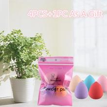 5PCS Pro Beauty Flawless Makeup Blender Foundation Puff Multi Shape Sponges esponja Beauty Girl Sep 21