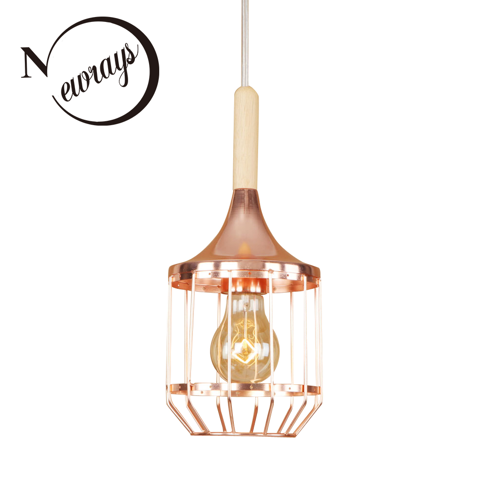 Modern iron plated creative rose gold pendant lamp E27 220V LED hanging light fixture restaurant bedroom living room hallway bar vintage colorful minimalist cement hanging pendant lamp 220v e27 led light with switch lighting fixture for hallway bar bedroom