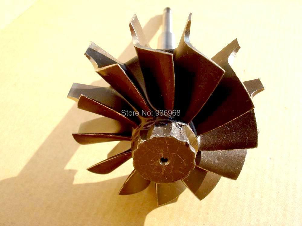 HX40 roue de Turbine taille 64x76mm, Turbo pièces pour turbo remplacement fournisseur AAA Turbocompresseur Pièces