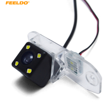 Feeldo Авто CCD Парковка Реверсивный Резервное копирование Камера с LED для Volvo c70 я II V70 II III XC70 заднего вида Камера # am5444