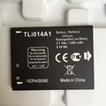 For Alcatel TLi014A1 Battery 100% Original NEW 1400mah battery For TCL ONE TOUCH 4012 OT-4012A FIRE OT-5020