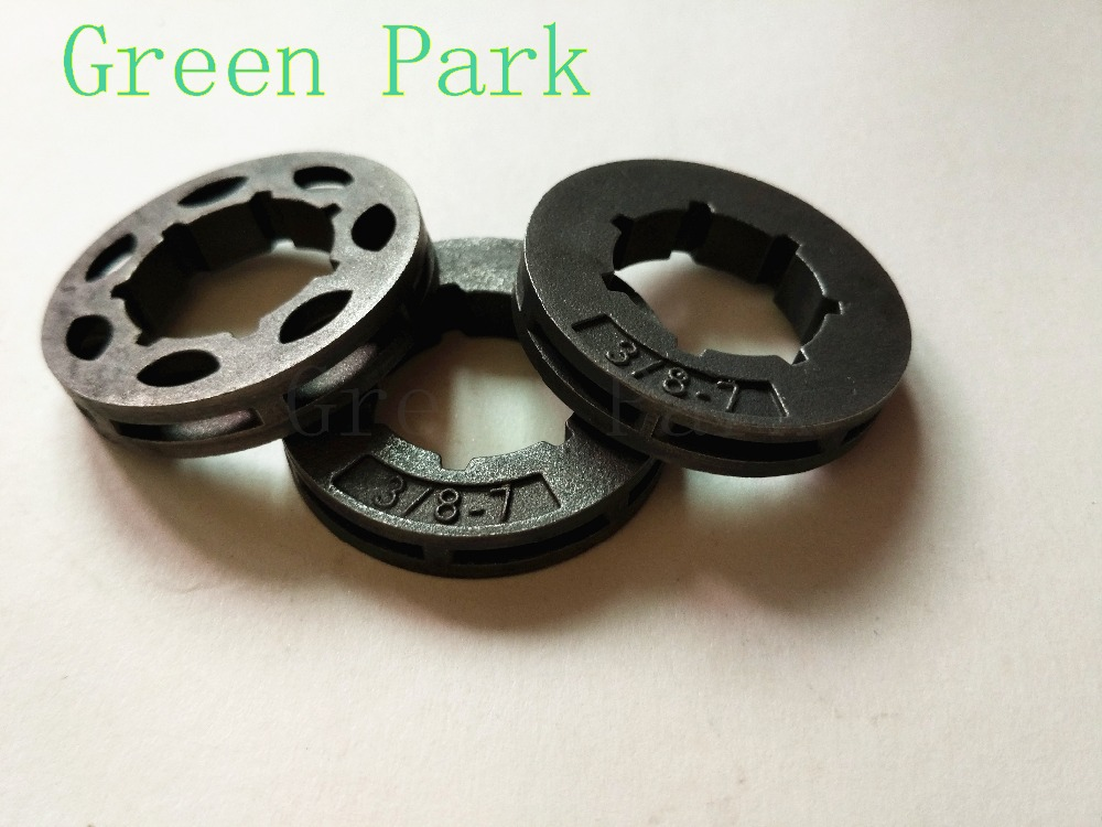 10PCS Hot Sale 4500 5200 5800 45CC 52CC 58CC Chainsaw Clutch Drum Sprocket Rim 3/8 7 Teeth For Chinese Chain Saws Parts