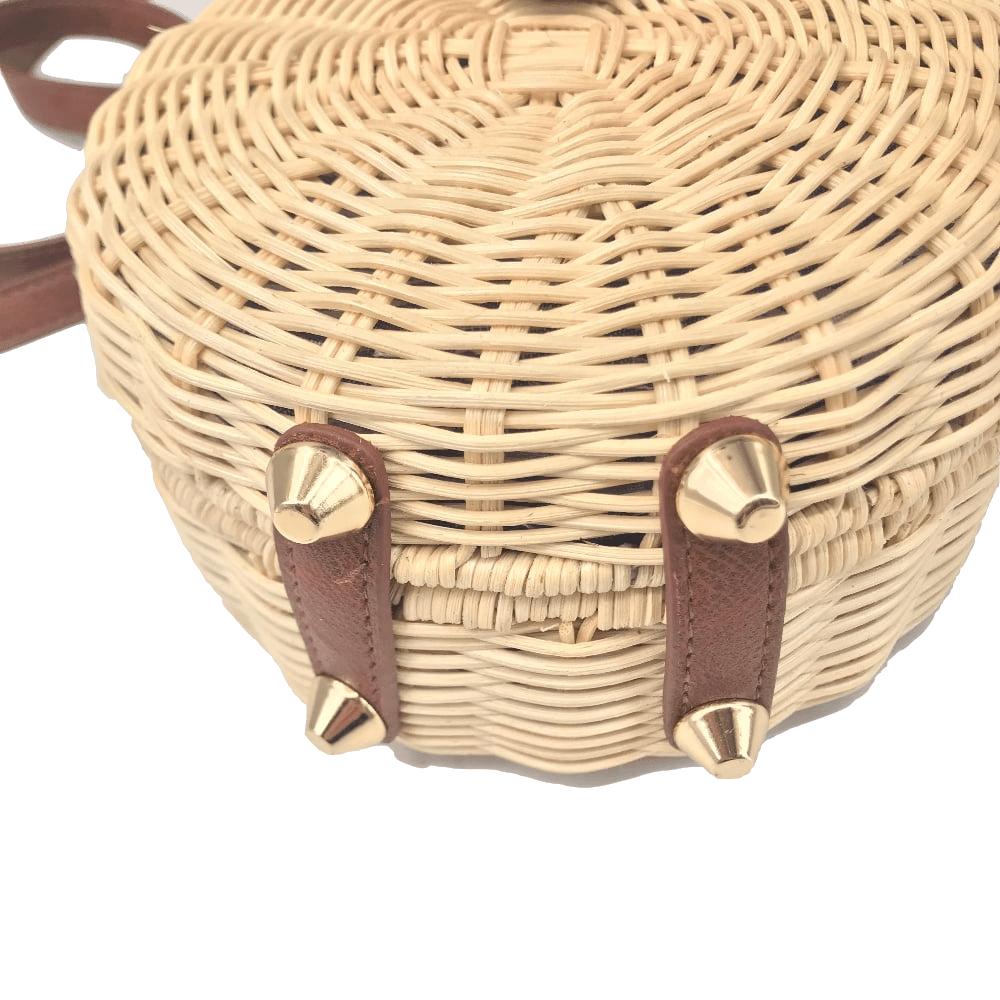 Square Round Mulit Style Straw Bag Handbags Women Summer Rattan Bag Handmade Woven Beach Circle Bohemia Handbag New Fashion 25