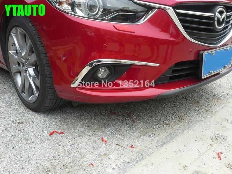 Avtomobil duman işıq örtüyü, Mazda 6 atenza 2014 2015 üçün avtomatik ön duman işıq işıqları, ABS xrom, pulsuz çatdırılma