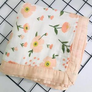 Image 3 - ใหม่Muslin Quiltสี่ชั้นไม้ไผ่Muslinผ้าห่มSwaddleดีกว่าAden Anaisเด็ก/ผ้าห่มเด็กทารก