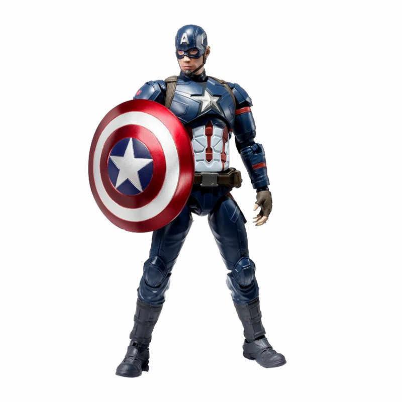 "6/"" Captain America 3 Super Hero Movable Hawkeye PVC Figurine Toy in box"