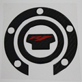 Carbon Fiber Fuel Gas Tank Petrol Cap Pad Protector Sticker Badge Decal Universal for YAMAHA YZF-R1