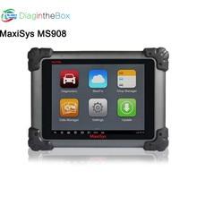 Autel Maxisys MS908 автомобильный диагностический сканер инструмент подключен MaxiFlash Elite J2534 лайки MS908P Pro поддерживает Программирование ЭБУ