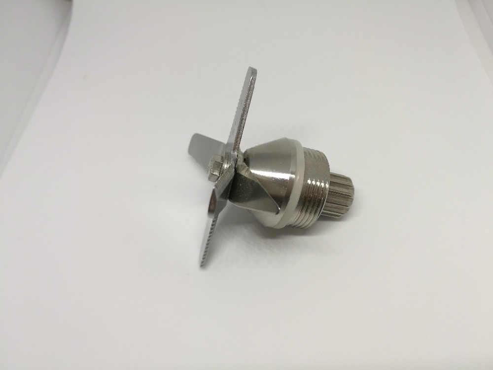 TWK TM 767 800 (67-02) lâminas de Faca Triturador De Gelo para Peças De Reposição Liquidificador Espremedor de Aço Inoxidável Endurecido Seis Mistura