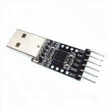 1PCS 6Pin USB 2.0 to TTL UART Module Serial Converter CP2102 Replace Ft232 Adapter Module