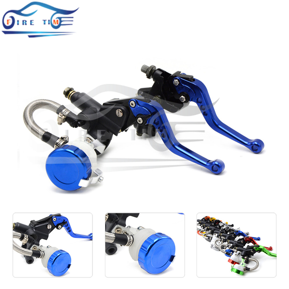 free shipping motorcycle CNC Aluminum Adjustable brake clutch lever& brake pump For bmw K1200R SPORT 2006 2007 2008 free shipping motorcycle moped scooter cnc brake lever front