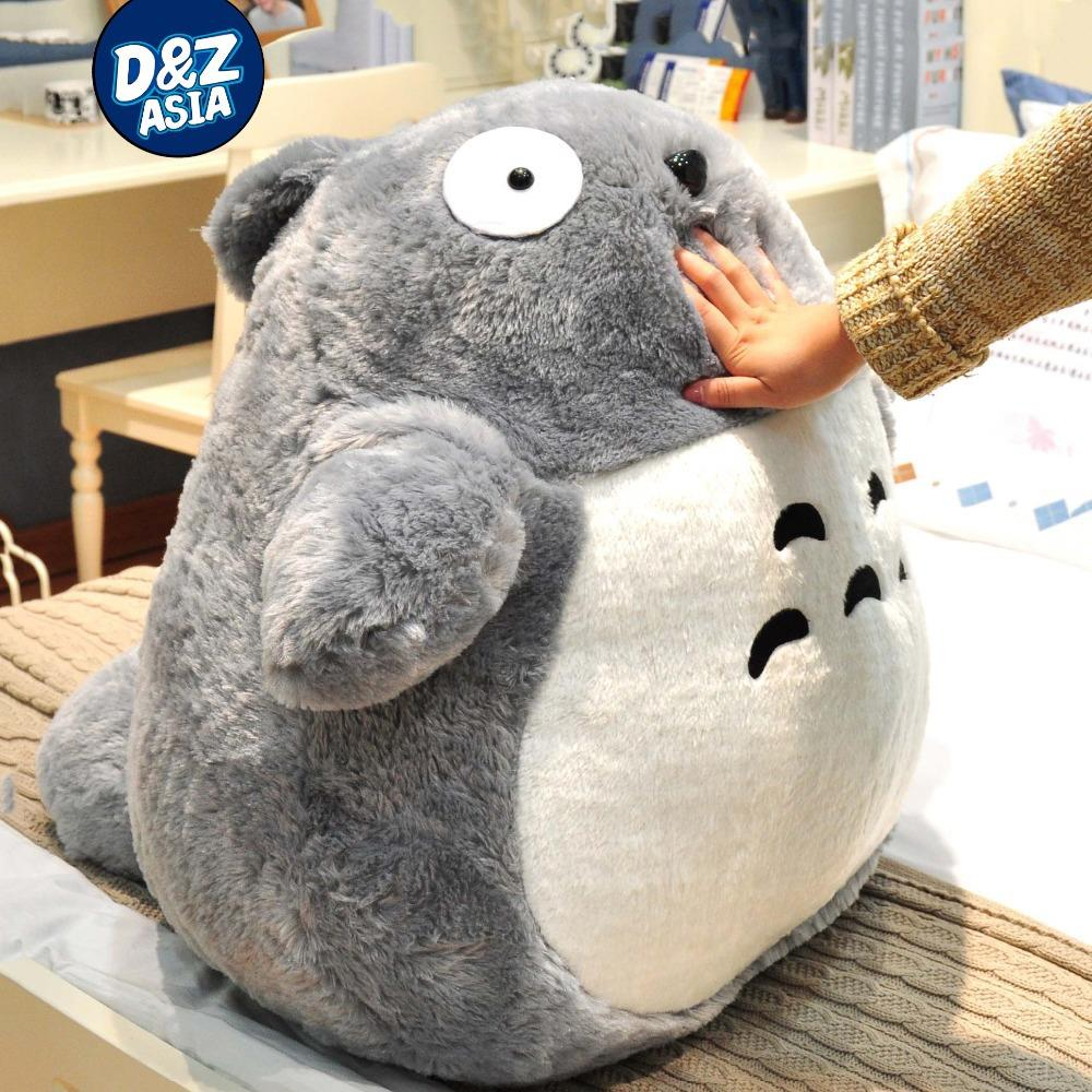 Totoro bean bag chair - Free Shipping Totoro Chinchilla Giant Totoro Plush Stuffed Animal Super Soft Plush Toy Birthday Valentine S Day