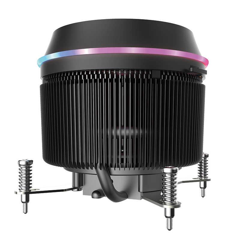 Aigo العيون برو وحدة المعالجة المركزية RGB برودة 4 دبوس LED RGB PC وحدة المعالجة المركزية مروحة المبرد تبريد الألومنيوم النحاس غرفة التبريد ماستر Ram برودة الحرارة الأنابيب
