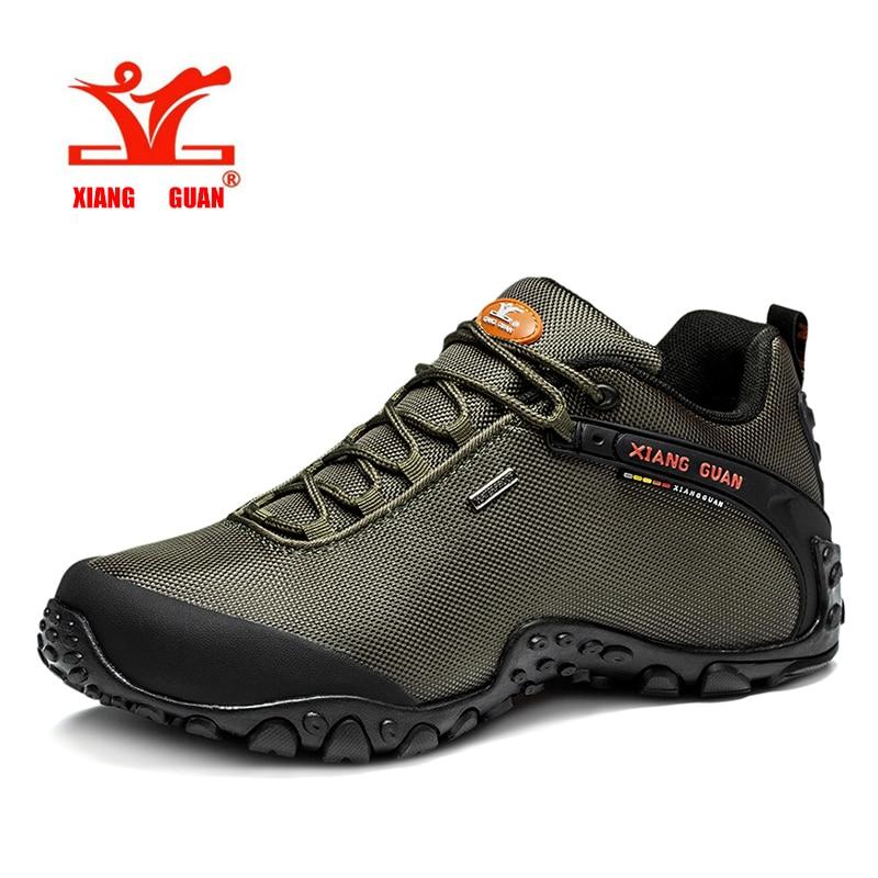 Hotsell XIANG GUAN Man Outdoor Hiking Shoes fishing Athletic Trekking Boots Women Climbing Walking Sneskers large SIZE EUR 36-48 кофемашина delonghi esam 3000