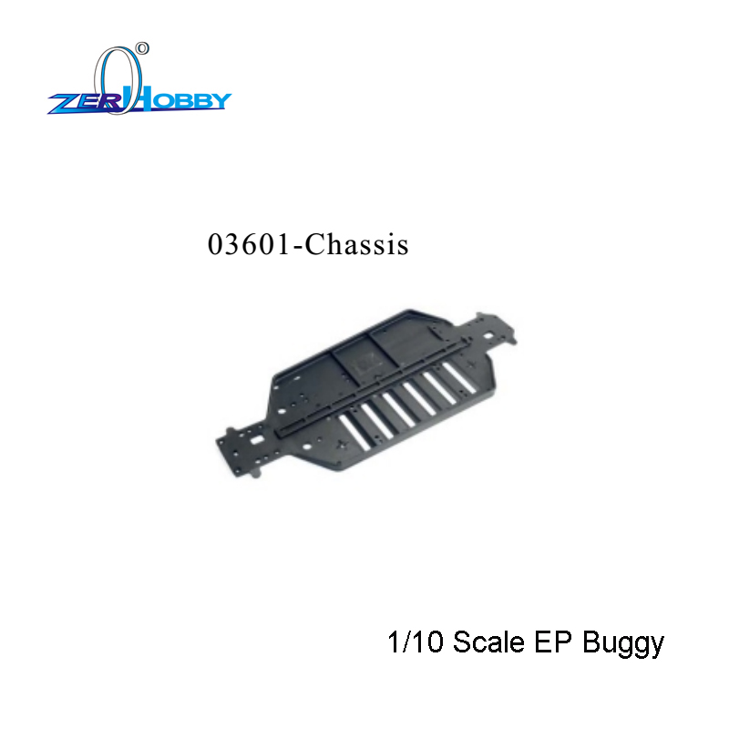 <font><b>03601</b></font> Chassis HSP Original Parts Spare Parts For 1/10 R/C Model Car Chassis <font><b>03601</b></font> image