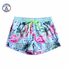 Women Summer Shorts Casual Drawstring Waistband coconut wind graffiti 3D print Beach Style Swim Pool with Pocket Female Shorts boys tiger print vest with ornate print drawstring shorts